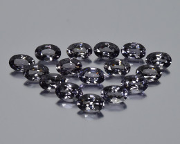 8.45 Cts Sparkling Lustrous Beautiful Calibrated Lot Natural Gray Spinel