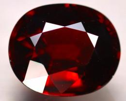 Almandine 4.60Ct Natural Vivid Blood Red Almandine Garnet E2403/B26