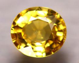 Tourmaline 1.75Ct Natural Golden Yellow Color Tourmaline E2407/B48