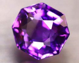 Amethyst 6.80Ct Natural Uruguay Electric Purple Amethyst E2414/C4