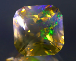 10.52Ct ContraLuz Square Cut Mexican Very Rare Species Opal C2534
