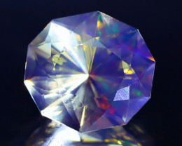 4.85Ct ContraLuz Fancy Oval Cut Mexican Very Rare Species Opal C2536