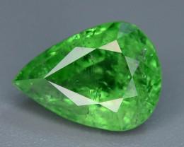 Certified AAA Grade 1.89 ct Forest Green Tsavorite Garnet