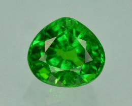 Tsavorite Garnet 1.15Ct Forest Green Color Rare Natural Tsavorite Garnet