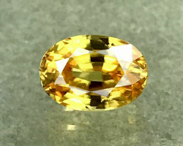 1.64 CT ZIRCON VIVID YELLOW 100% CLEAN NATURAL UNHEATED SRI LANKA