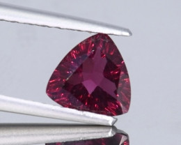 1.35 Crt Beautiful Trillion Cut Rhodolite Gemstone~ Sri Lanka