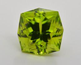 4.75 Carat Natural Grass Color Peridot Gemstone
