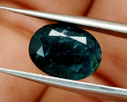 3.45Crt world Rarest Grandidierite  Natural Gemstones JI40