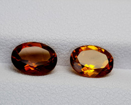2Crt Madeira Citrine Natural Gemstones JI40
