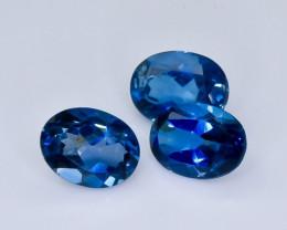 4.77 Crt  London Blue Topaz Faceted Gemstone (Rk-7)