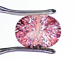 Pink Tourmaline, 2.43ct, Mozambique, Oval Cut