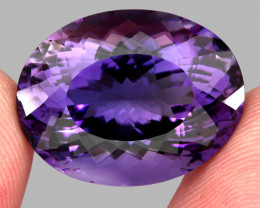 35.89 ct 100% Natural Earth Mined Unheated Purple Amethyst, Uruguay