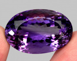 54.20 ct 100% Natural Earth Mined Unheated Purple Amethyst, Uruguay