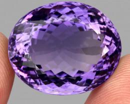 49.10 ct 100% Natural Earth Mined Unheated Purple Amethyst, Uruguay