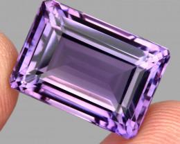 23.74 ct 100% Natural Earth Mined Unheated Purple Amethyst, Uruguay
