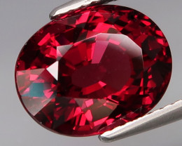 6.30  Ct. Natural Earth Mined Top Quality Cherry Red Rhodolite Garnet Afric