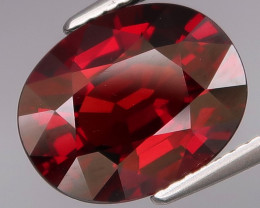 5.87  Ct.100% Natural Earth Mined Top Quality Red Rhodolite Garnet Africa