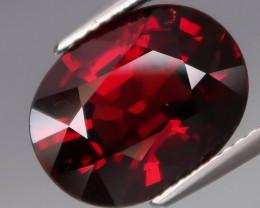 6.36 Ct.100% Natural Earth Mined  Red Rhodolite Garnet Africa
