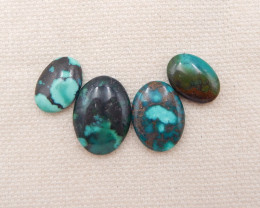 D1306 - 21cts Lucky Turquoise, Handmade Gemstone, Turquoise Cabochons, Luck
