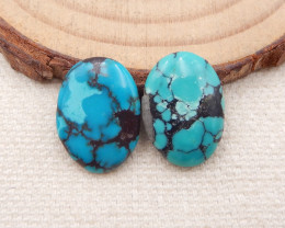 D1308 - 9cts Lucky Turquoise, Handmade Gemstone, Turquoise Cabochons, Lucky