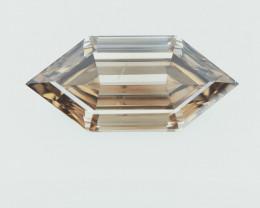 1.24 cts  fancy Natural Diamond , Unique Shaped Diamond