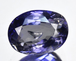 ~WONDERFUL~ 2.17 Cts Natural Blue Iolite Oval Cut Tanzania