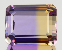 6.25 Cts Natural Bi-Color Ametrine Octagon Emerald Cut Bolivia