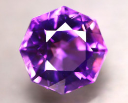 Amethyst 10.85Ct Natural Uruguay Electric Purple Amethyst D2520/C4