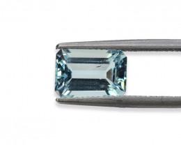 3.45 Cts Stunning Lustrous Natural Aquamarine