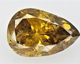 0.51 cts fancy Natural Diamond , Unique Shaped Diamond
