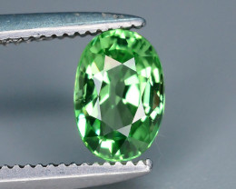 Certified AAA Grade 0.67 ct Forest Green Tsavorite Garnet