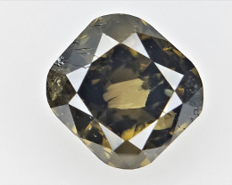0.36 cts  ,, Cushion briliant Cut Diamond , Natural Sparkling Diamond