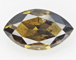 0.26 cts  , Marquise Diamond Gemstone , Sparkling Diamond