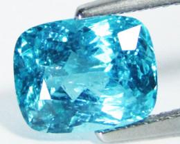 3.35Ct Natural Amazing Paraiba Blue Color Apatite Cushion Shape Collection