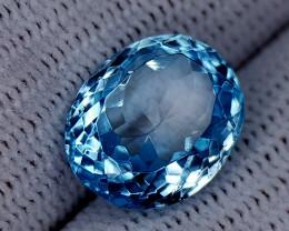 6.65CT BLUE TOPAZ BEST QUALITY GEMSTONE IIGC48