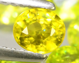 3.90 CTS~EXCELLENT NATURAL-YELLOWISH GREEN SPHENE ~WONDERFUL!!