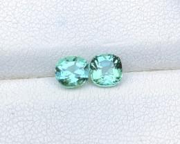 1.70 Ct Natural Greenish Transparent Tourmaline Gemstones Parcels