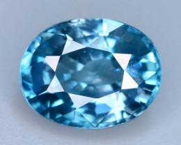 AAA Brilliance 3.55 ct Blue Zircon Cambodia