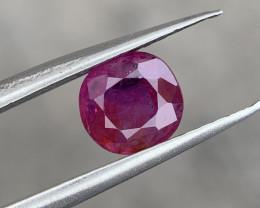 Rare Natural Kashmir sapphire.