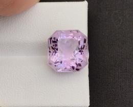 Flower Cut Ct 8.20 Natural Purple Amethyst A-