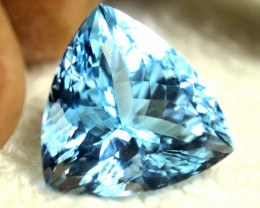 18.94 Carat Blue Brazilian VVS Topaz - Gorgeous