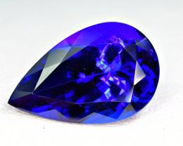 12.02Carat Tanzanite Top Color Cut Gemstone