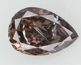 0.54 cts Pear Brilliant Cut Diamond , Natural Diamond Gemstone