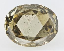 0.44 cts   , Oval Brilliant Cut , Sparkling Diamond