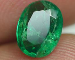 1.085CRT BEAUTY GREEN EMERALD ZAMBIA -