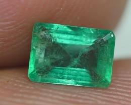 0.555CRT BEAUTY GREEN EMERALD ZAMBIA -