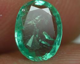 0.580CRT BEAUTY GREEN EMERALD ZAMBIA -