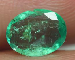 0.660CRT BEAUTY GREEN EMERALD ZAMBIA -