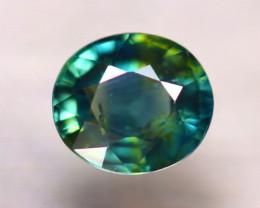 Unheated Sapphire 0.86Ct Natural Peacock Sapphire D2708/B9