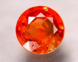 Spinel 1.57Ct Mogok Spinel Natural Burmese Vivid Orange Spinel D2714/B51